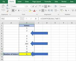 how to count in excel values text and blanks dedicated excel