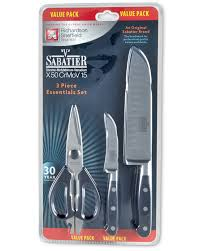 sabatier 3 piece essential knife set aldi uk