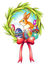 Easter Decorations Clipart by Illustration Of A Rabbit Inside A Cracked Easter Egg On A White