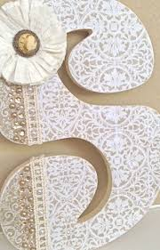 Decorative Letters For Walls 59 Best Decorated Wooden Letters Images On Pinterest Decorated