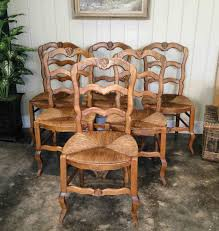 Country Dining Chairs Country Dining Chairs With Ladder Back And Country
