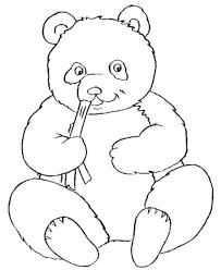panda bear coloring pages www nutrangnu com