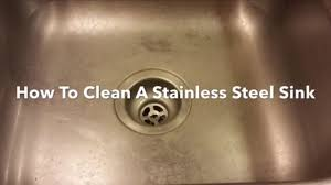 how to keep stainless steel sink shiny how to clean a stainless steel sink clean polish and restore bar