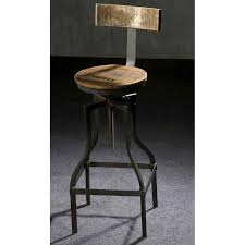 chaise bar industriel tabouret de bar style industriel mobilier style industriel