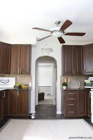 kitchen wall paint with brown cabinets aesthetic white by sherwin williams paint colors green