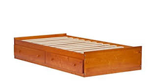 Bed Platform With Drawers Palace Imports 2434 100 Solid Wood Kansas Mate S