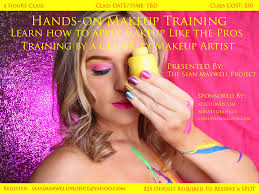 makeup classes atlanta on makeup classes in atlanta presented by the maxwell