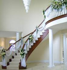 wedding preparation staircase decor stairs decor pinterest