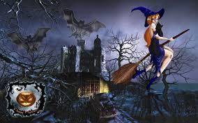 widescreen wallpapers of halloween top pics