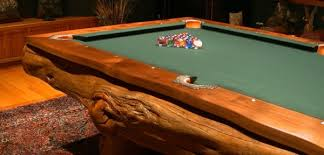 amazing log pool tables home design garden u0026 architecture blog
