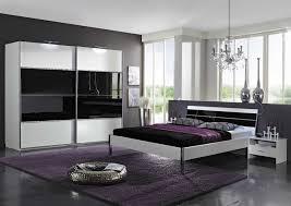 chambre à coucher blanc et noir charmant chambre et blanc et chambre coucher moderne et