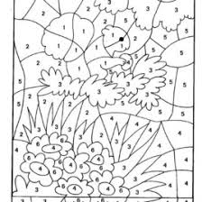 Free Printable Color By Number Worksheets Give The Best Coloring Woodland Animals Coloring Pages