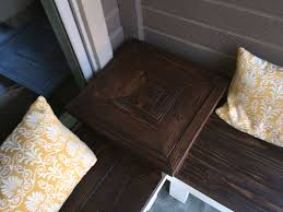 Remodelaholic Build A Custom Corner Remodelaholic Build A Corner Bench With Built In Table
