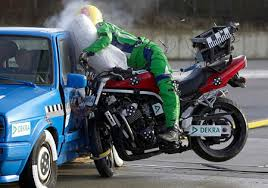 crash test siege auto 2013 motorcycling and crashing are inextricably linked as bikes don t