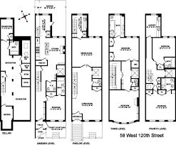 brownstone floor plans maya angelou s harlem brownstone sells for 4m streeteasy