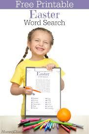 printable easter word search mommadjane