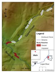 Green River Utah Map by Article Alert Riparian Vegetation Communities Change Rapidly