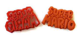 super mario brothers fondant cutter cookie cutter things4thinkers