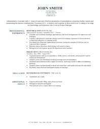 Sample Resume For A Driver Expert Preferred Resume Templates Resume Genius