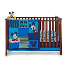 disney infant boy u0027s 4 piece mickey mouse crib bedding set