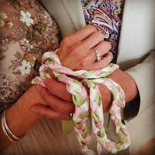 celtic handfasting cords tying the knot handfastings in cumbria veronika robinson
