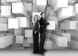 interior illusions home dynamo and kelly hoppen create illusions with wallpaper