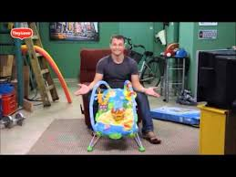 Tiny Love Bouncer Chair Dad Unboxing Tiny Love Gymini Bouncer Youtube