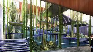 beautiful marrakesh congress center design bringsmodern touch with