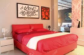 Bed Back Design Modern Design Bedroom Red Bed Inside Furniture Store Warm