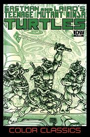 tmnt color classics 4 idw tmnt teenage mutant ninja