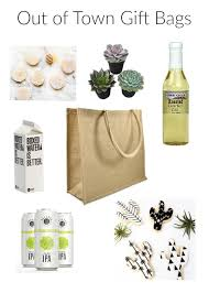 wedding gift bag ideas wedding welcome bag ideas for the out of town guest sassy soirees