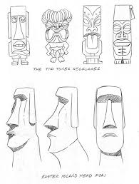 easter island kev brockschmidt illustrator