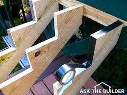 diy deck stairs ask the builderask the builder