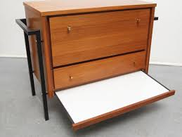 meubles design vintage meuble de rangement bar vintage en teck 1960 design market