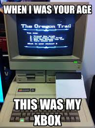 Oregon Trail Meme - the oregon trail re pinned by http facebook com southfloridah2o