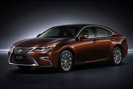 lexus new car maintenance 2016 lexus es first look news cars com