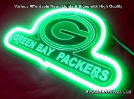 green bay packers lights nfl green bay packers 3d neon sign beer bar light neonlightsign