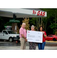 bj u0027s wholesale club donates a year u0027s supply of gas and tires to