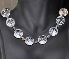 crystal necklace rock images Beaded necklace rock crystal sterling silver chain swarovski jpg