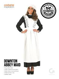 Downton Abbey Halloween Costumes White Kids Apron Finished Maid Hat Side Cooks Apron Mens