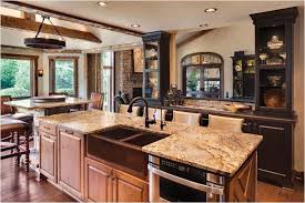 Rustic Kitchen Faucet by Kitchen Design Rustic Chic Small Kitchen Apartment Island