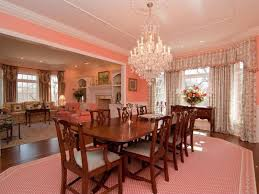 traditional dining room with chandelier u0026 hardwood floors in north