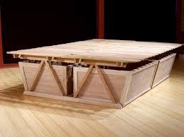 Raised Platform Bed Frame High Platform Bed Frame 10 Beds That Look And Killer