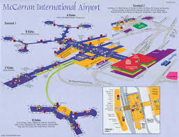 Las Vegas Fremont Street Map by Las Vegas Airport Las Vegas Airport Transportation