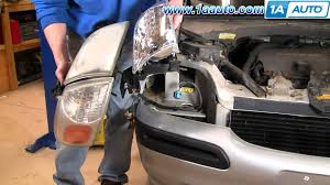 how to install replace headlight chevy venture pontiac montana