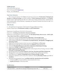 Software Tester Resume Sample by Manual Testing Resume Resume Manual Testing Sample Projects
