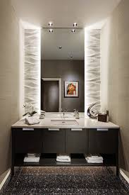 Backlit Mirror Bathroom by Backlit Mirror Bathroom Contemporary With Backlit Mirror Cove