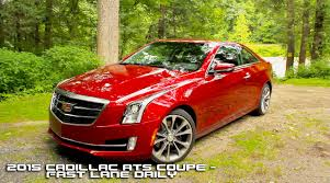 cadillac ats 2015 review 2015 cadillac ats coupe review fast daily