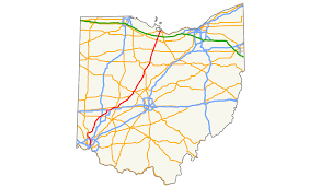 Map Dayton Ohio by Ohio State Route 4 Wikipedia