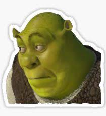 Shrek Meme - shrek memes stickers redbubble